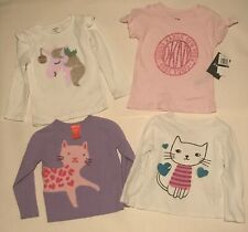 10 Piece Lot of Girls Clothes Size 24 Months, 2T