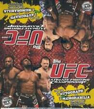 2009 Topps UFC Round 2 (Series 2) Factory Sealed 24 Pack Box