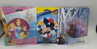 Disney Princess, Mickey Mouse and Frozen 2 LED Night Light  NEW Lot Of 3
