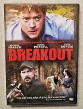Breakout (DVD, 2013 Brendan Fraser, Dominic Purcell, Daniel Kash NEW DVD