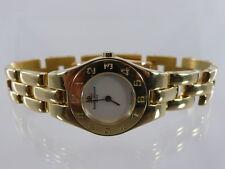 BAUME & MERCIER LINEA DAMENUHR PERLMUTTZIFFERBLATT QUARZ 750 GOLD REF. MV045201