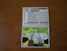 figurina JEEG ROBOT n.41 - ED. PANINI 1979 completa di velina