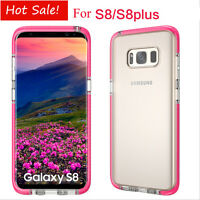 For Samsung Galaxy S8/S8 Plus Shockproof Ultra-thin TPU Clear Case Cover