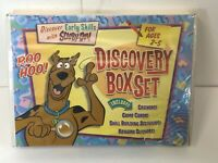 Scooby-Doo Discovery Kit 2007 Early Learning Skills Sealed Box Has Damage XX