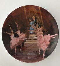 1980 Viletta China Plate Nutcracker Ballet Waltz Of The Flowers Coa