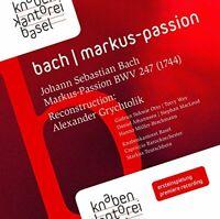 Alexander Grychtolik - Bach:St Mark Passion [Alexander Grychtolik; [CD]