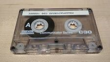 Test tape speed/flutter, azimuth calibration cassette, 3 Khz 0 dB, 10 Khz -10db.