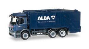 HERPA 1/87 SCALE ALBA - MERCEDES-BENZ ANTOS GARBAGE TRUCK MODEL BN 306966