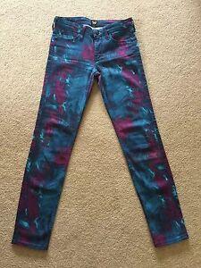 Women's Lee Scarlett Skinny Stretch Ankle Grazer Jeans W25 L31 (722)