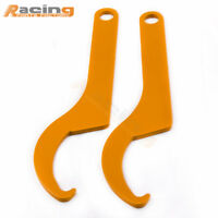 2x Racing Coilover Shock Adjustment Tool Steel Spanner Wrenches Coil Over Wrench