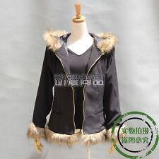 Anime Durarara!! Izaya Orihara Cosplay Costume Coat Jacket +Base shirt