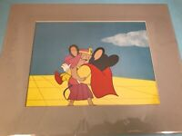 Animation Production Cel Mighty Mouse Kissing - from Pilot Episode