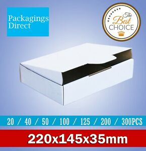 Mailing Box 220 x 145 x 35mm for DVD CD Video MAILER Bx6 Size
