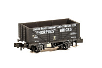 Peco NR-P426 N Gauge 7 Plank Wagon London Brick Co & Forders Ltd
