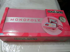 Monopoly Boutique Edition Complete!!Exclusive 2007 Jewelry Keepsake Box PINK New
