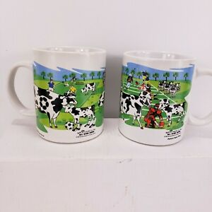 Super Bowl All Star Cows mug Baseball Football 2004 Basketball Soccer Animal Art