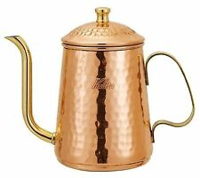 Kalita Copper Pour over Kettle Coffee Tea Drip Pot 0.6 - Liter 52071