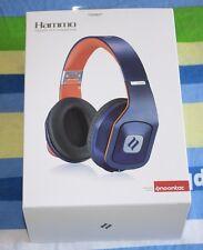 BRAND NEW Noontec Hammo Adjustable Over Ear Stereo Hi-Fi Earphone Headphone Blue
