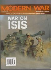 MODERN WAR MAGAZINE WAR ON ISIS #33 JANUARY 2018, ONLY MAGAZINE NO GAMES.