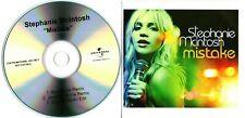 STEPHANIE MCINTOSH - Mistake - (3 Track Promo CD) - Jewels & Stone / Orig Mixes