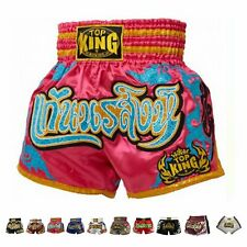 Kingtop Top King Boxing Muay Thai Shorts Normal or Retro Style Size S M L Xl .
