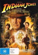 INDIANA JONES & the KINGDOM of CRYSTAL SKULL (Harrison FORD) ACTION DVD Region 4