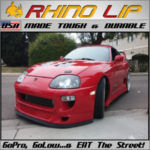 Toyota Supra Celica GT-R Lower Front Rubber Chin Lip Spoiler Splitter Moulding *