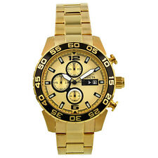 Invicta II Gold-tone Chronograph Mens Watch 1016