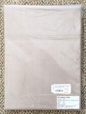 The Company Store Driftwood 500 TC Plain Supima Sateen Flat Sheet Full Size