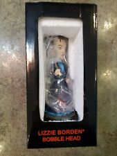 """MIB Original LIZZIE BORDEN 7"""" Bobblehead From Her House in Fall River MA"""