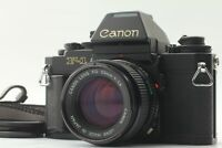[EXC+5] Canon New F-1 AE Finder Film Camera w/ New FD NFD 50mm F/1.4 Lens Japan
