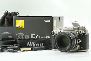 【N MINT+】Nikon Df 16.2MP Digital SLR Silver w/ Special Edition AF-S G 50mm F1.8