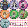 Anime overlord albedo Bedge Pin Button Brooch Badges Cosplay Gifts 7 Pcs#23