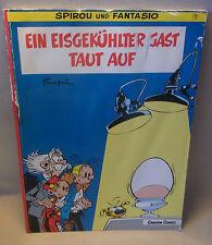 Carlsen Verlag Comic Spirou und Fantasio Band 11 Ein eisgekühlter Gast taut auf