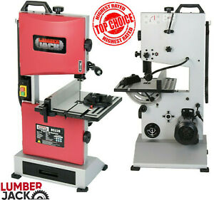 """Lumberjack Bench Top 9"""" Woodworking Bandsaw Cast Table Wood Cutting Blade 240v"""