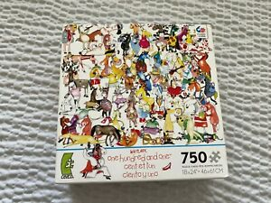 One Hundred Horses and A Shoe 750 pcs Jigsaw Puzzle Kevin Whitlark Ceaco