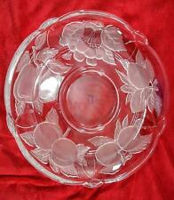 Victoria & Beale by Sango Forbidden Fruit Frosted Glass 14'' Chip & Dip Platter