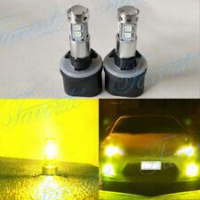 880 885 893 899  LED Fog Lights Bulbs Kit Upgrade 35W 4000LM 3000K Yellow