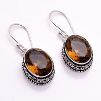 925 Sterling Silver Overlay Earrings, Handcrafted Gemstone Women Jewelry PE1