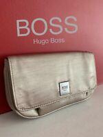 🆕Hugo Boss Gold Clutch Bag / Purse NEW
