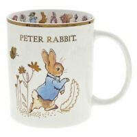 Beatrix Potter Coffee Mug Soup Mug Frederick Warne 2002 Peter Rabbit Ceramic