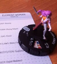 HeroClix Superman #016  ELEMENT WOMAN  DC