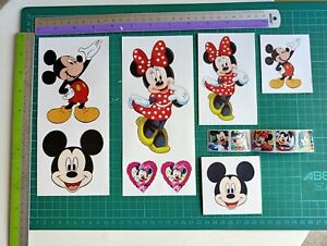 Stickers - (T3a) Mickey & Minnie Mouse