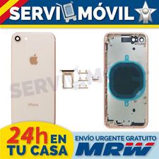Marco Intermedio + Tapa Para Apple Iphone 8 Oro / Chasis Bateria Housing