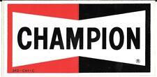 CHAMPION SPARK PLUGS MEDIUM STICKER FROM REP FORMULA 1 BTCC F3 FERRARI F1 JORDAN