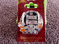 Disney * CHIP & DALE - HAUNTED MANSION CANDLESTICKS * New On Card Attraction Pin