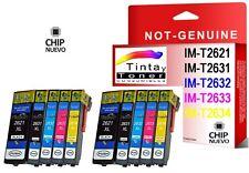 10 Tintas compatibles nonoem T2621 T2631 T2632 T2633 T2634 Epson Expression