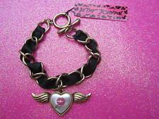 Betsey Johnson Winged Heart Bracelet