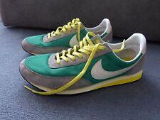Nike Vintage Waffle grün gelb brazil fan retro old school  sneaker Gr.45