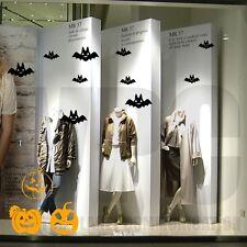 adesivi vetrine halloween autunno inverno negozi vetrofanie stickers